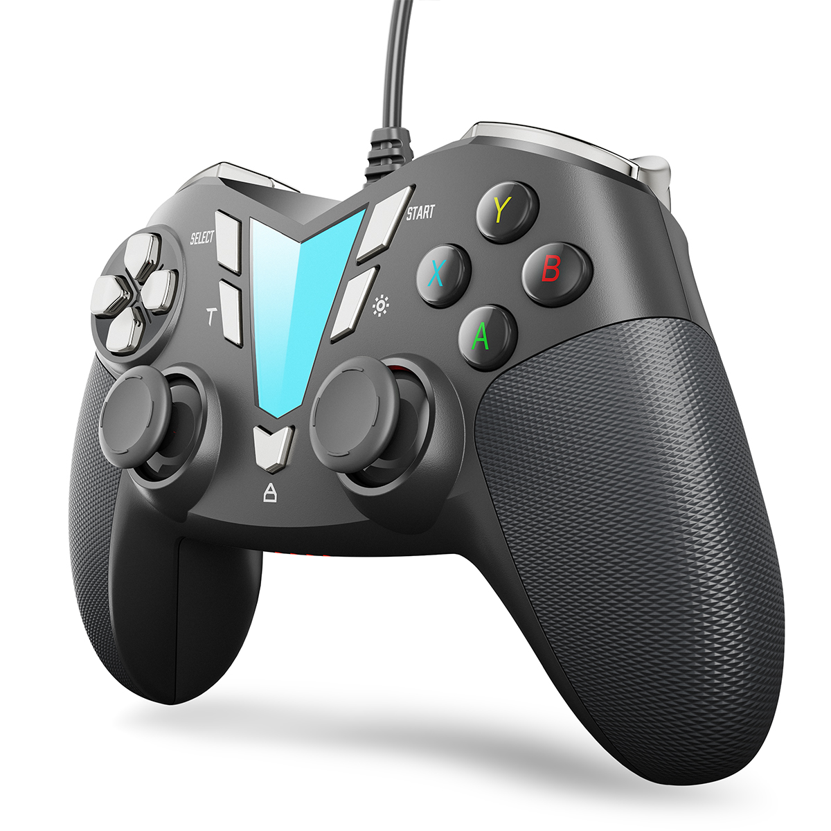IFYOO ONE Pro Wired Gaming Controller – Silver&Black